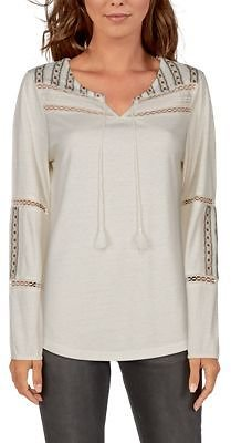 Bob Timberlake Embroidered Yoke Long-Sleeve Knit Top for Ladies | Bass Pro Shops