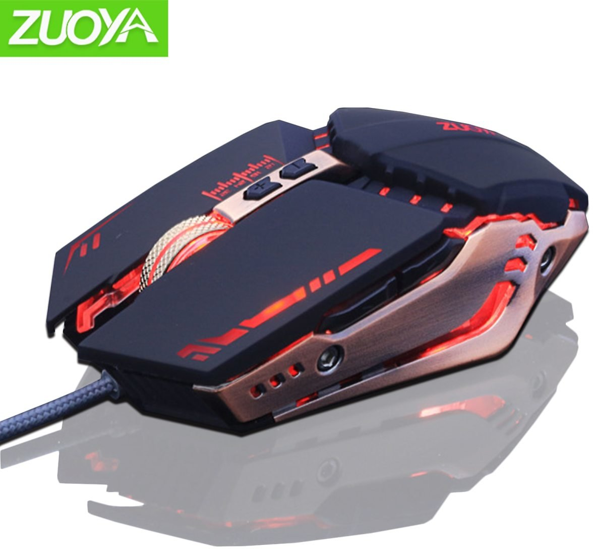 US $8.35 69% OFF|ZUOYA USB Wired Gaming Mouse 7 Buttons Optical LED Computer Game Mice for PC Laptop Notebook Gamer|Mice| - AliExpress