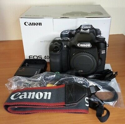 Canon EOS 40D 10.1MP Digital SLR Camera - Black (Body Only) 13803086553