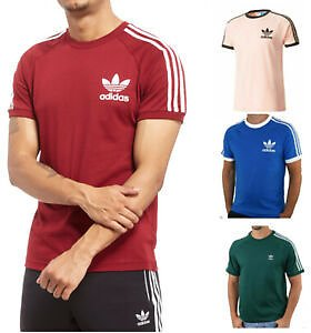 \Adidas T Shirts California Training Gym Crew Neck Workout Sports Short Sleeves