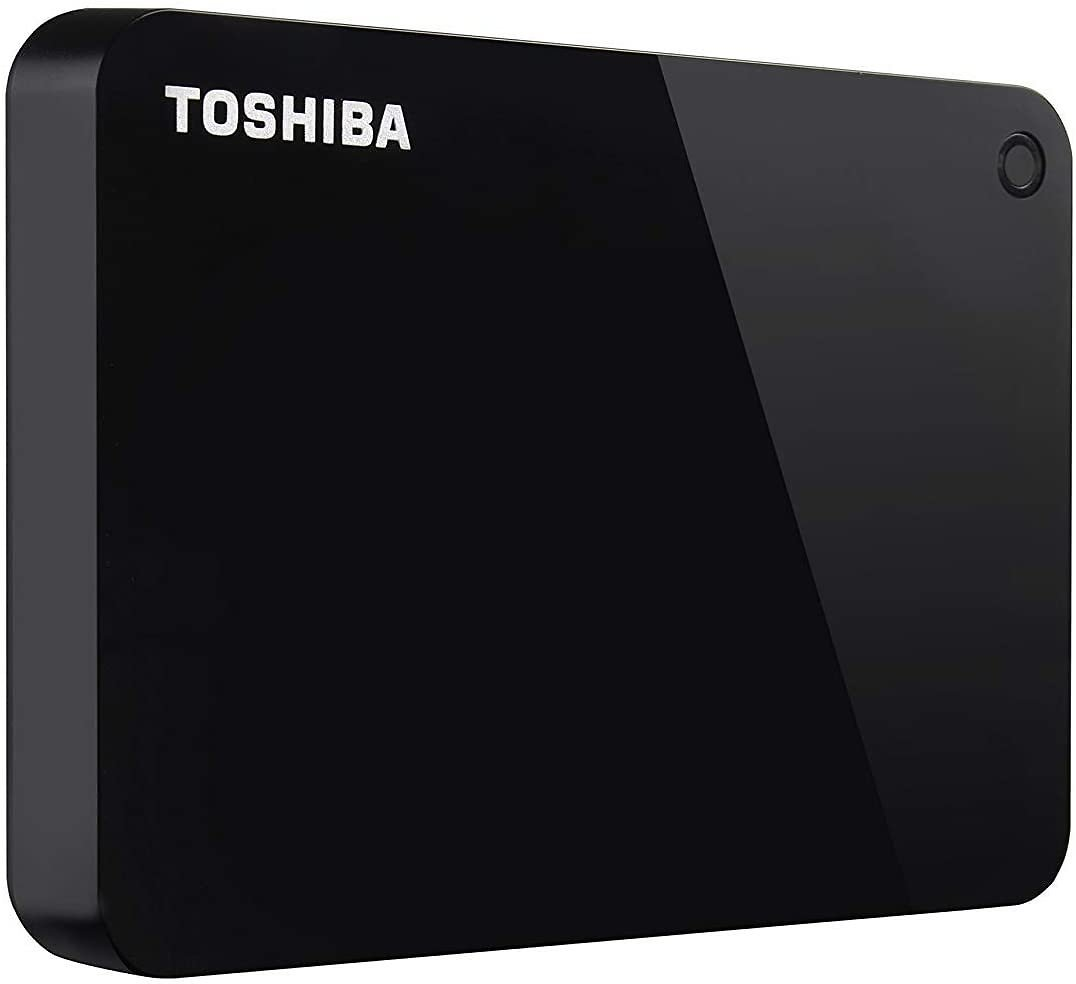 20% Off Toshiba (HDTC920XK3AA) Canvio Advance 2TB Portable External Hard Drive USB 3.0, Black