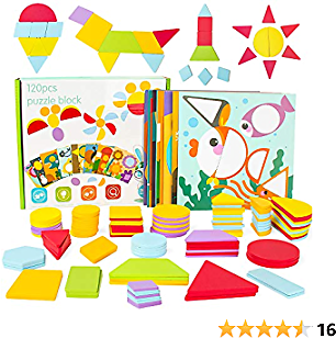 30%off Yo!Wow Wooden Tangram Puzzles Gifts for Children to Learn
