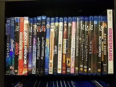 Blu-ray Lot! Wholesale $5 Each! Buy 4 Movies and Get One FREE!