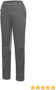 Little Donkey Andy Women's Windproof Softshell Hiking Pants Lightweight Water Resistant Pants for Camping, Outdoors