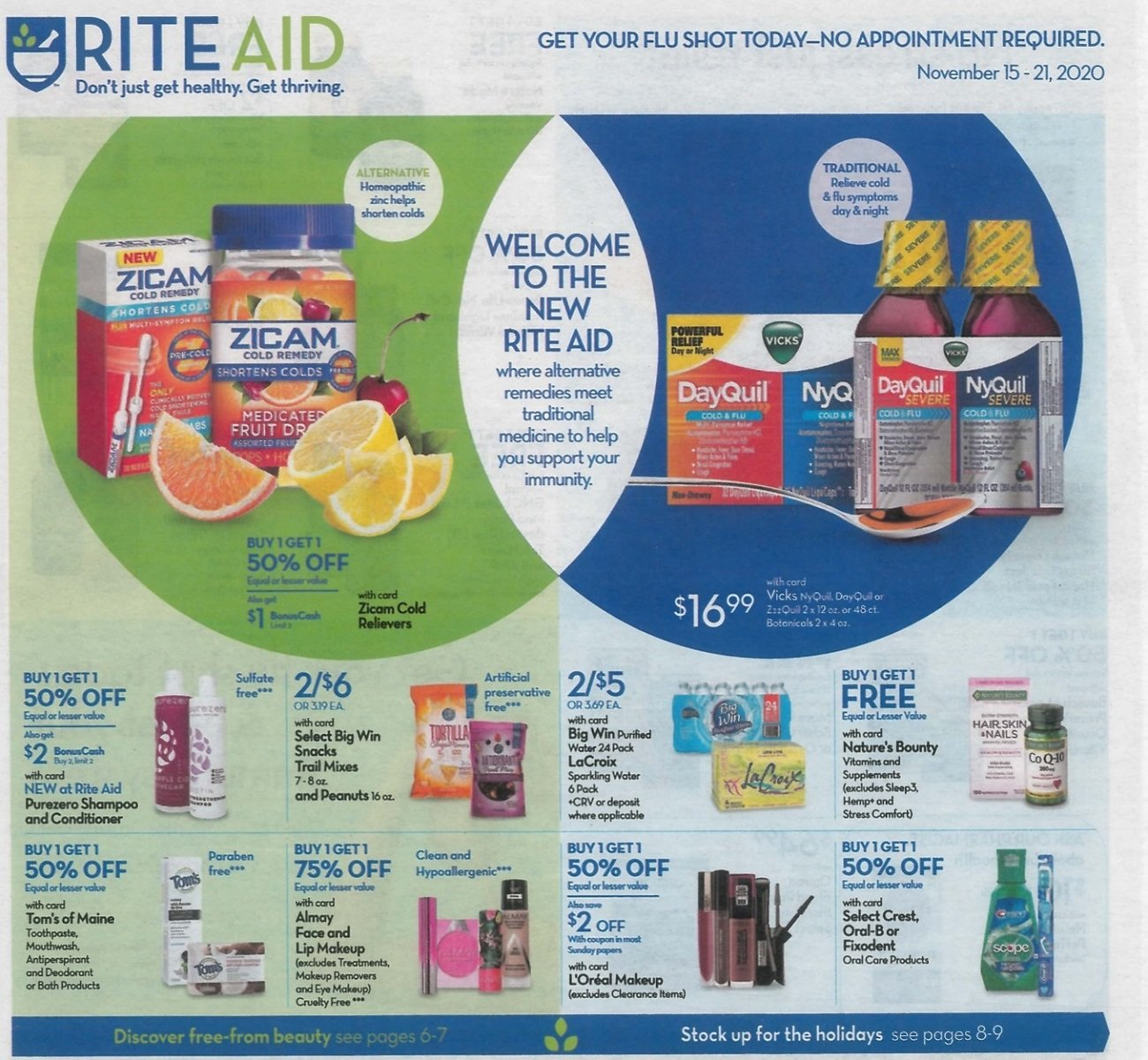 Rite Aid Weekly Ad (11/15 - 11/21)