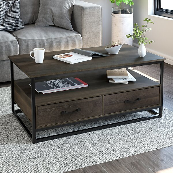 SALE 15%OFF ON Southside Frame Coffee Table with Storage