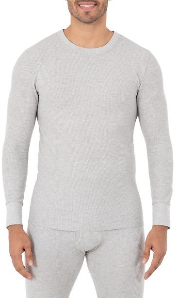 Fruit of The Loom Men's Core Waffle Thermal Top