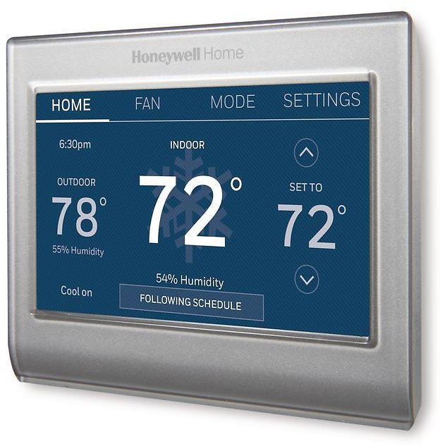 Honeywell Smart Color 7-Day Programmable Thermostat