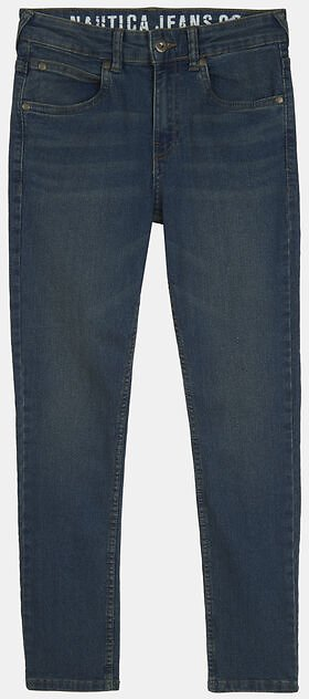 LITTLE BOYS' SKINNY-FIT DISTRESSED JEANS (4-7)