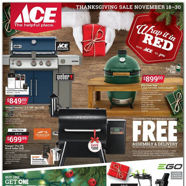 Ace Hardware Black Friday Ad Scan 2020