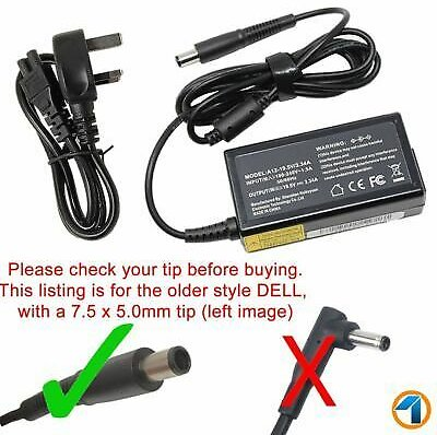 FOR DELL Inspiron 15 3000 5000 7000 Series 65w Laptop Power Supply Charger UK