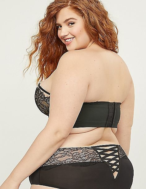 Lightly Lined Multi-Way Strapless Bra - Chantilly Lace | Cacique