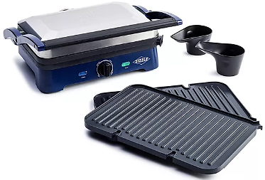 Nonstick Sizzle Griddle Deluxe with Grill Plate Set