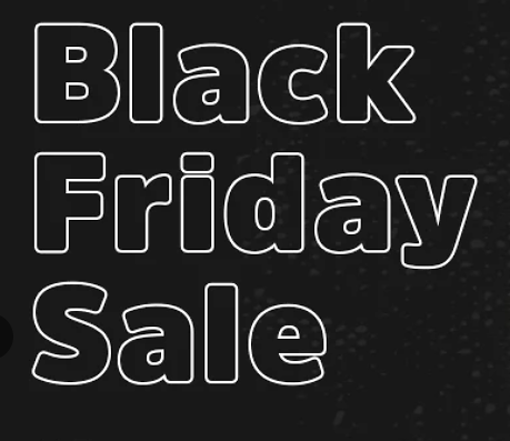 Up to 50% Off Black Friday Sale