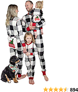 Lazy One Flapjacks, Matching Pajamas for The Dog, Baby & Kids, Teens, and Adults
