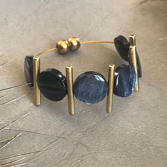 Handmade Greek Bracelet Designs, Bronze with Many Colours to Choose From, Boho Style Jewellery, Gift for Women, Free Shipping