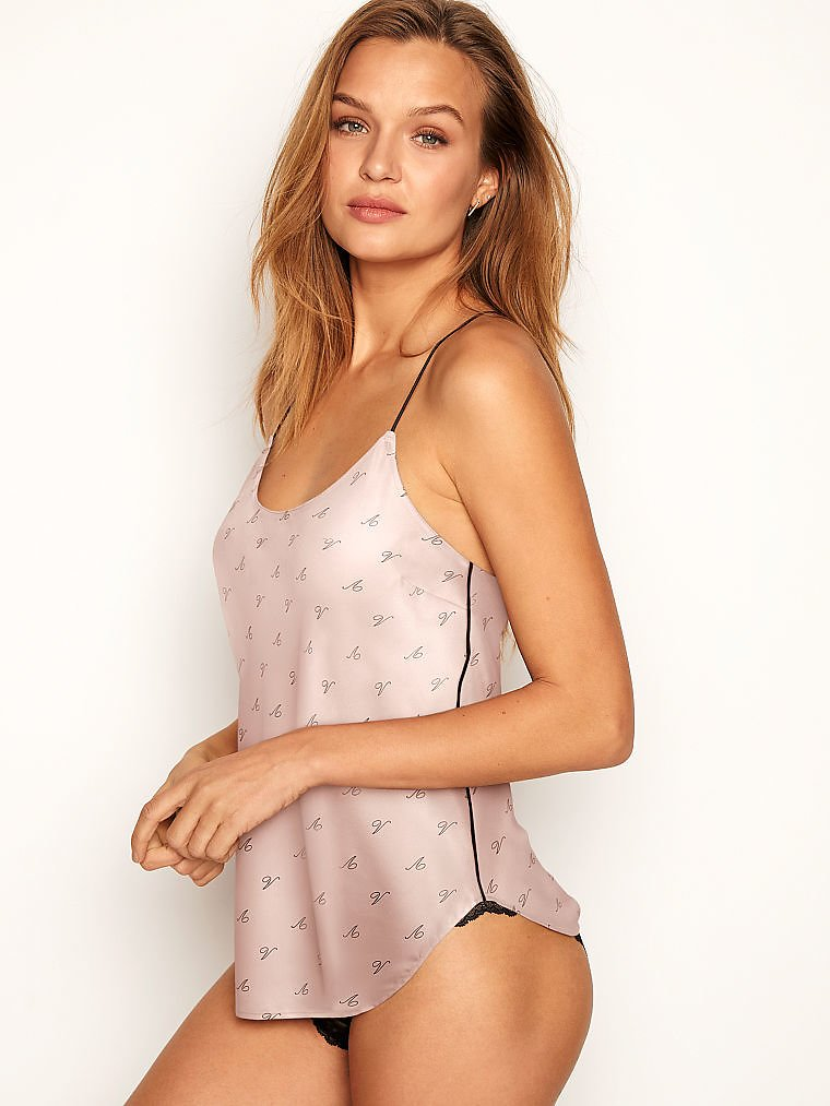 Racerback Satin Cami - Victoria's Secret - Vs