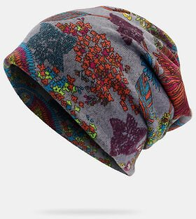 Fashion Printed Dual-use Hat Hooded Hat Beanie ScarfWomen's AccessoriesfromApparel Accessorieson Banggood.com