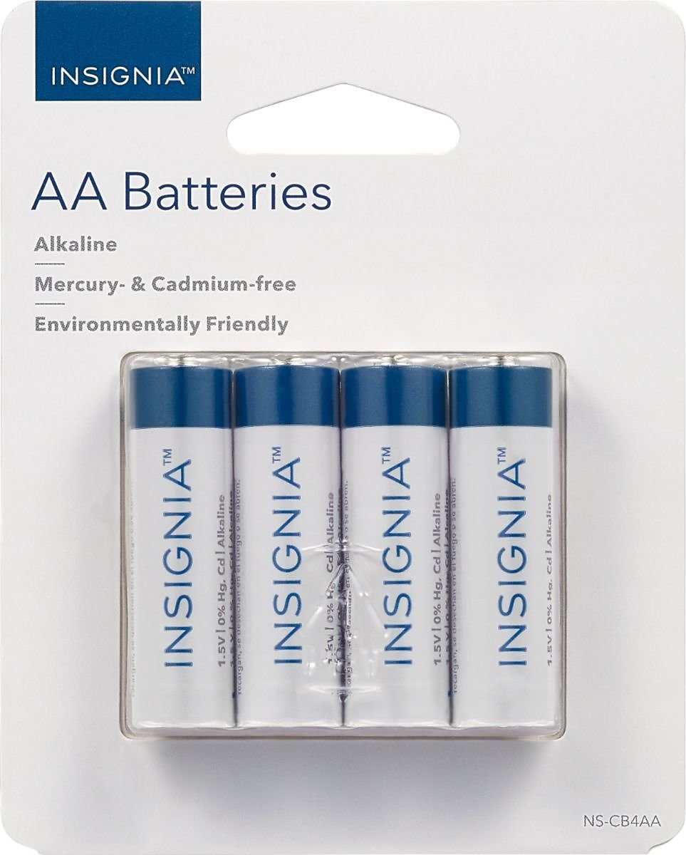 Insignia™ AA Batteries (4-Pack) NS-CB4AA