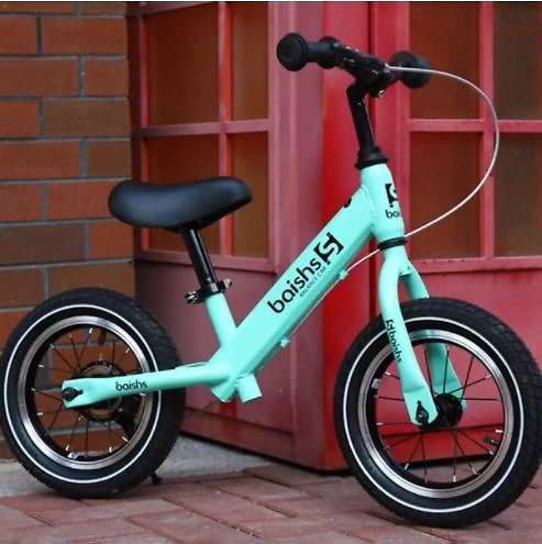 Children Brake Bicycle No Pedal Bike Kid Balance Bike Scooter Outdoor Toy Training Exercise Bicycle for 2-8Year 71x17x36cm Pink