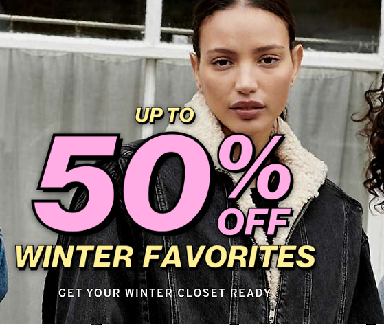 Up to 50% Off Winter Favorites