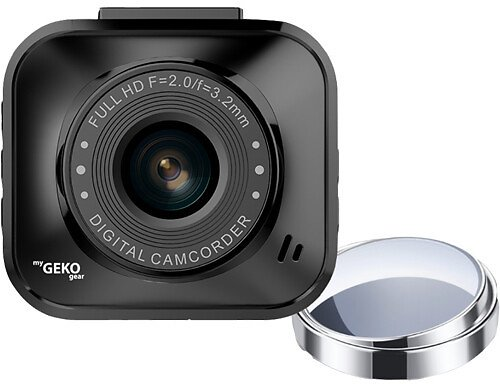 MyGEKOgear Orbit 122 1080p Dash Cam with 8GB MicroSD Card