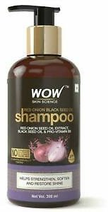 WOW Skin Science Red Onion Black Seed Oil Shampoo 300 Ml Free Shipping