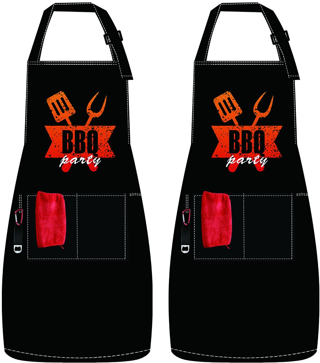 Save 50% On 2 Pack Kitchen Aprons (Code: 509HD433) On Amazon