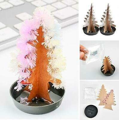 SAVE 5% OnMagic Paper Christmas Tree Growing Up Toy Party Decoration Desktop Ornament New