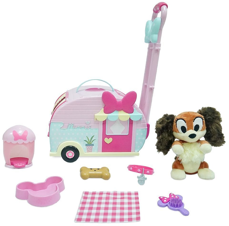 Minnie Mouse and Fifi Pet Carrier Play Set | ShopDisney