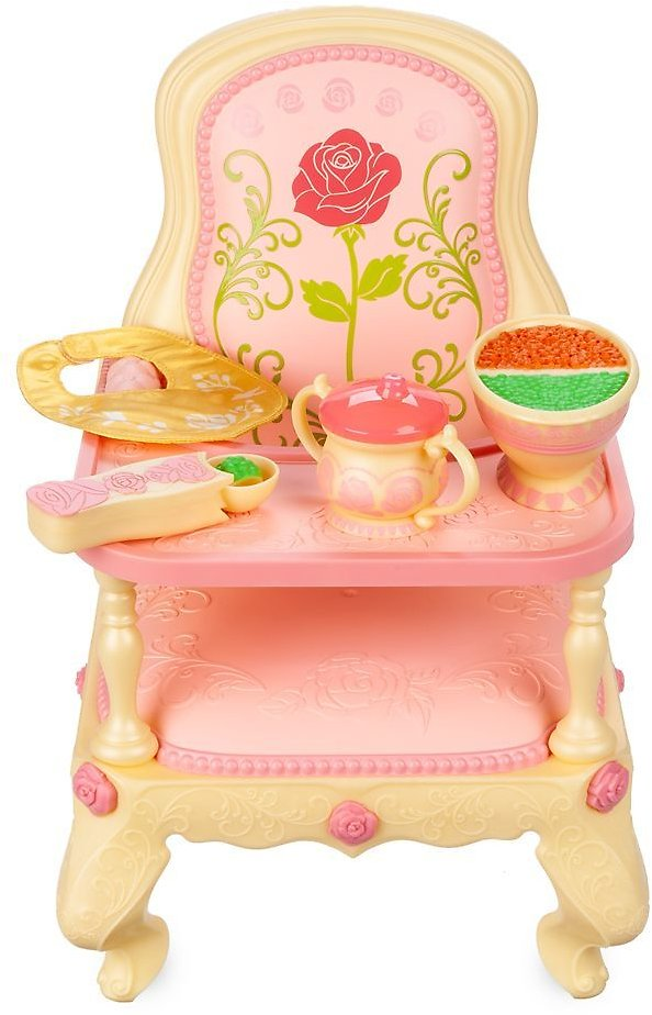 Disney Animators' Collection Belle Feeding High Chair – Beauty and The Beast | ShopDisney