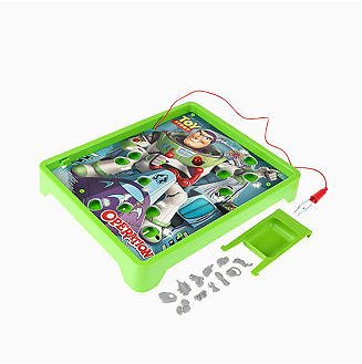 Hasbro CLOSEOUT! Operation: Disney/Pixar Toy Story Buzz Lightyear Board Game for Kids Ages 6 and Up & Reviews - Home