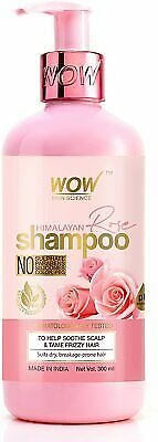 WOW Skin Science Himalayan Rose Shampoo,300ml