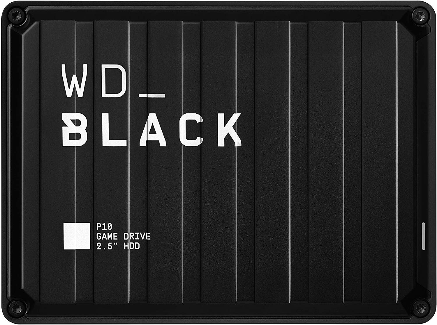 WD_Black 4TB P10 Game Drive, Portable External Hard Drive Compatible with Playstation, Xbox, PC, & Mac - WDBA3A0040BBK-WESN