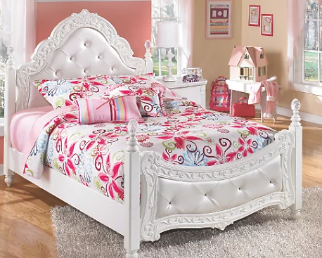 Exquisite Full Poster Bed | Ashley Furniture HomeStore