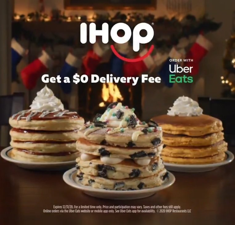 IHOP - Free Delivery with Uber Eats