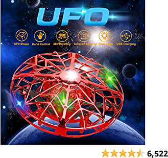Hand Operated Drones for Kids Adults,Hands Free Mini Drone Small Flying Ball Toy UFO Drone,Indoor Outdoor Motion Sensor Helicopter Ball Toys for Kids 6 7 8 9 10 11 12 and Up Years Boys and Girls Gift