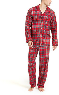 Family Pajamas Matching Men's Brinkley Plaid Family Pajama Set, Created for Macy's & Reviews - Bras, Panties & Lingerie - Women
