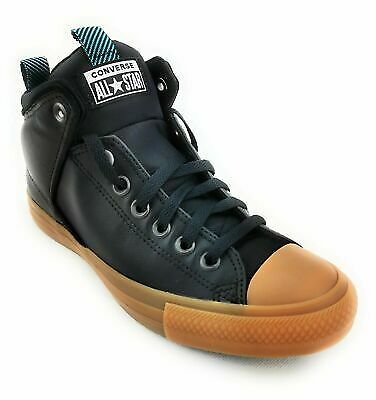 Converse Chuck Taylor All Star High Street Leather Mens Trainer Moulded Sole