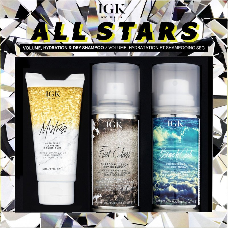 IGK All Stars Volume, Hydration And Dry Shampoo Kit | Ulta Beauty