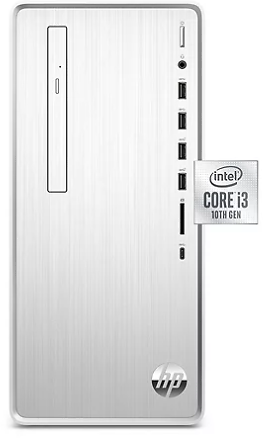 HP - Pavilion - DesktopTower - 10th Gen Intel Core I3 - 4GB+16GB Intel® Optane™ Memory - 1TB Hard Drive - USB Black Wired Keyboard and Mouse Combo - 2 Year Warranty Care Pack - Windows 10 Home - Sam's Club