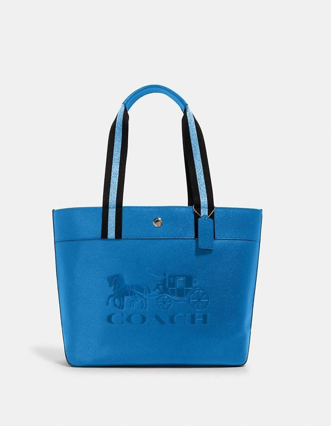 Jes Tote with Horse and Carriage