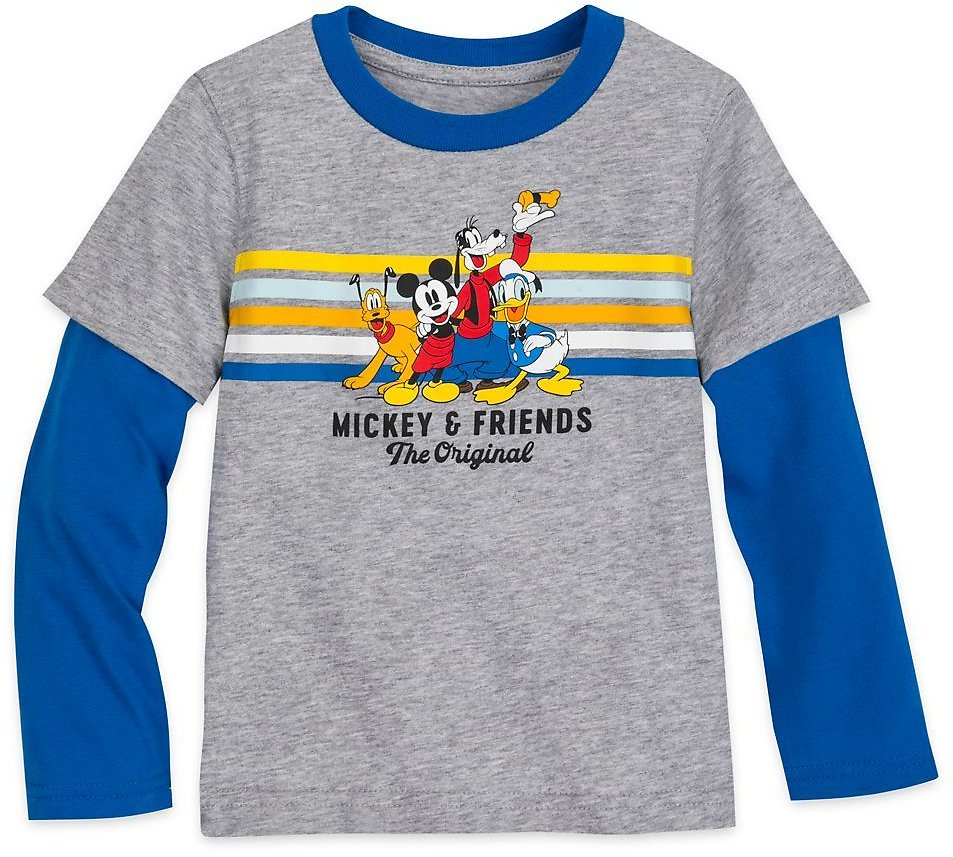 Mickey Mouse and Friends Long Sleeve Layered T-Shirt for Boys | ShopDisney
