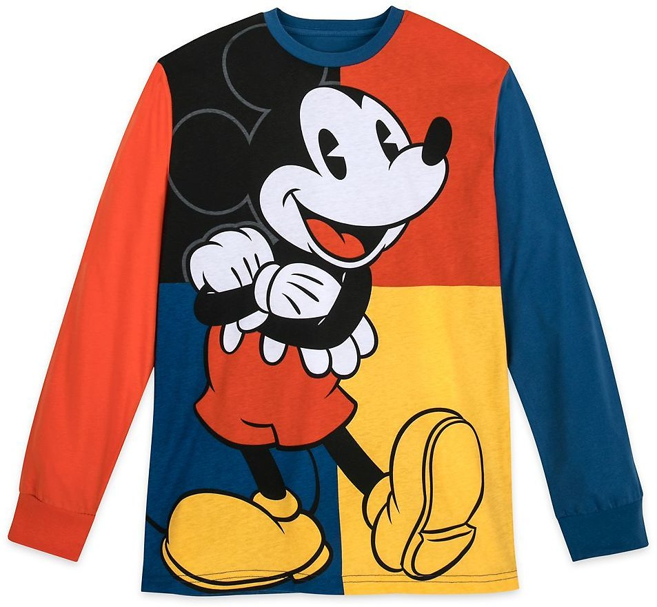 Mickey Mouse Long Sleeve T-Shirt for Men | ShopDisney