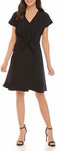 THE LIMITED Women's Dolman Sleeve Pleated Front Dress
