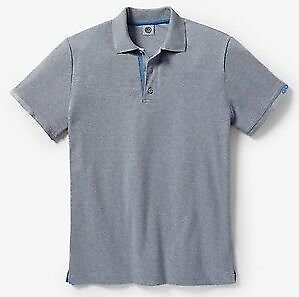 MENS VW GOLF COLLECTION GREY POLO T SHIRT - GENUINE VOLKSWAGEN MERCHANDISE