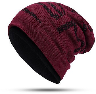 Mens Womens Plus Velvet Thicken Earmuffs Knit Beanie Cap Women's Accessories from Apparel Accessories on Banggood.com