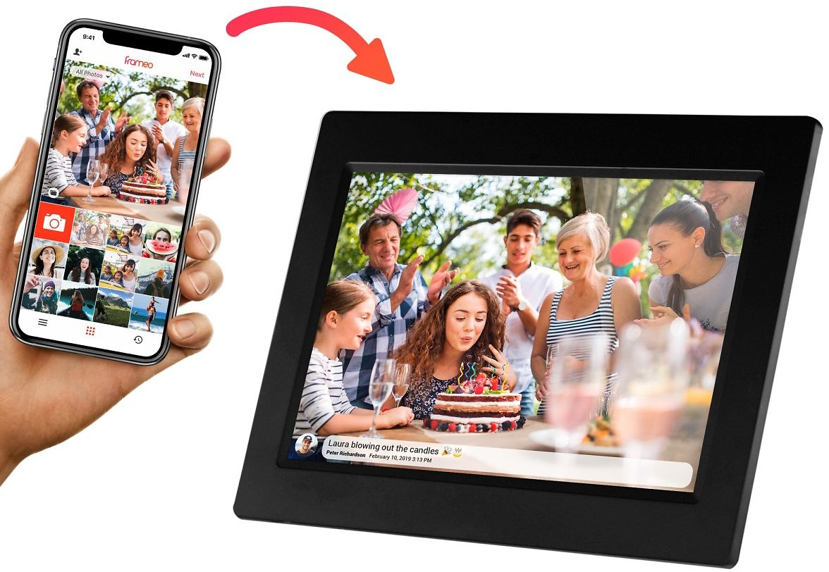 10-Inch Wi-Fi Digital Picture Frame,