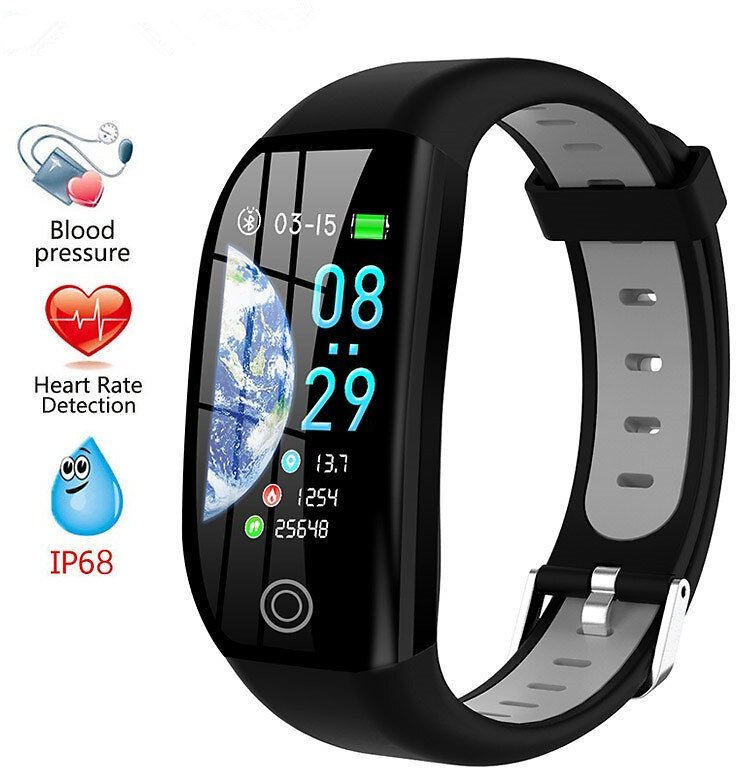 US $20.6 |F21 1.14 Inch Big Screen Smart Bracelet Blood Pressure Oxygen Heart Rate Monitor Fitness Tracker GPS Motion Track Band|Smart Wristbands| - AliExpress