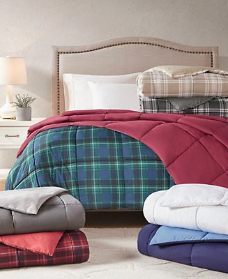 Martha Stewart Reversible Down Comforter (4 Sizes)